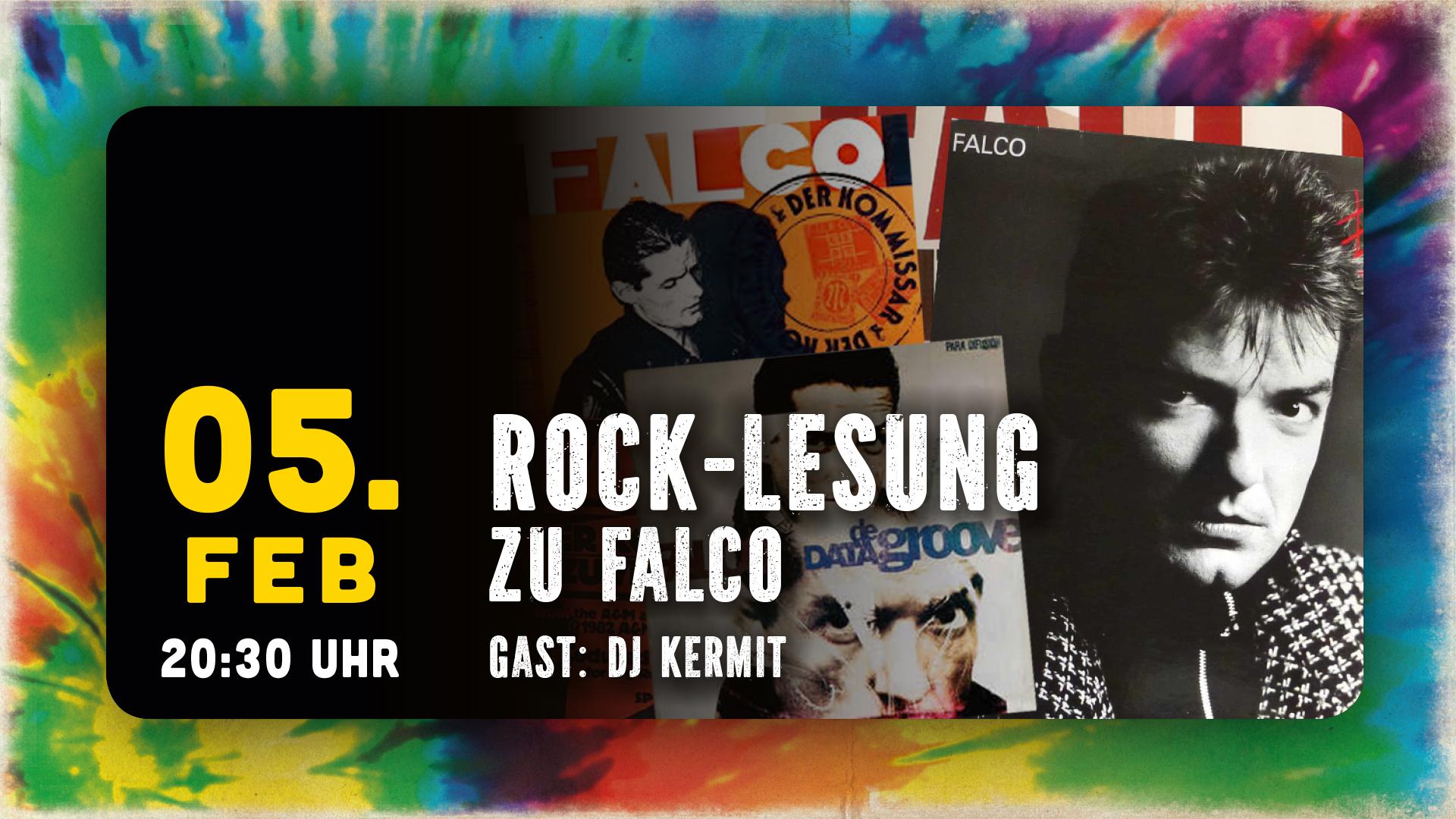 "Rock-Lesung ""Falco"""