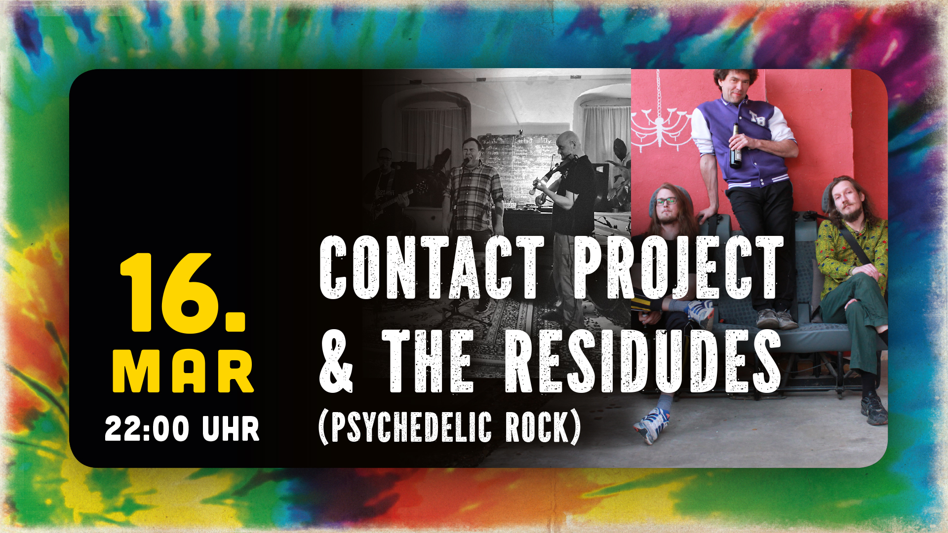 Contact Project + The Residudes