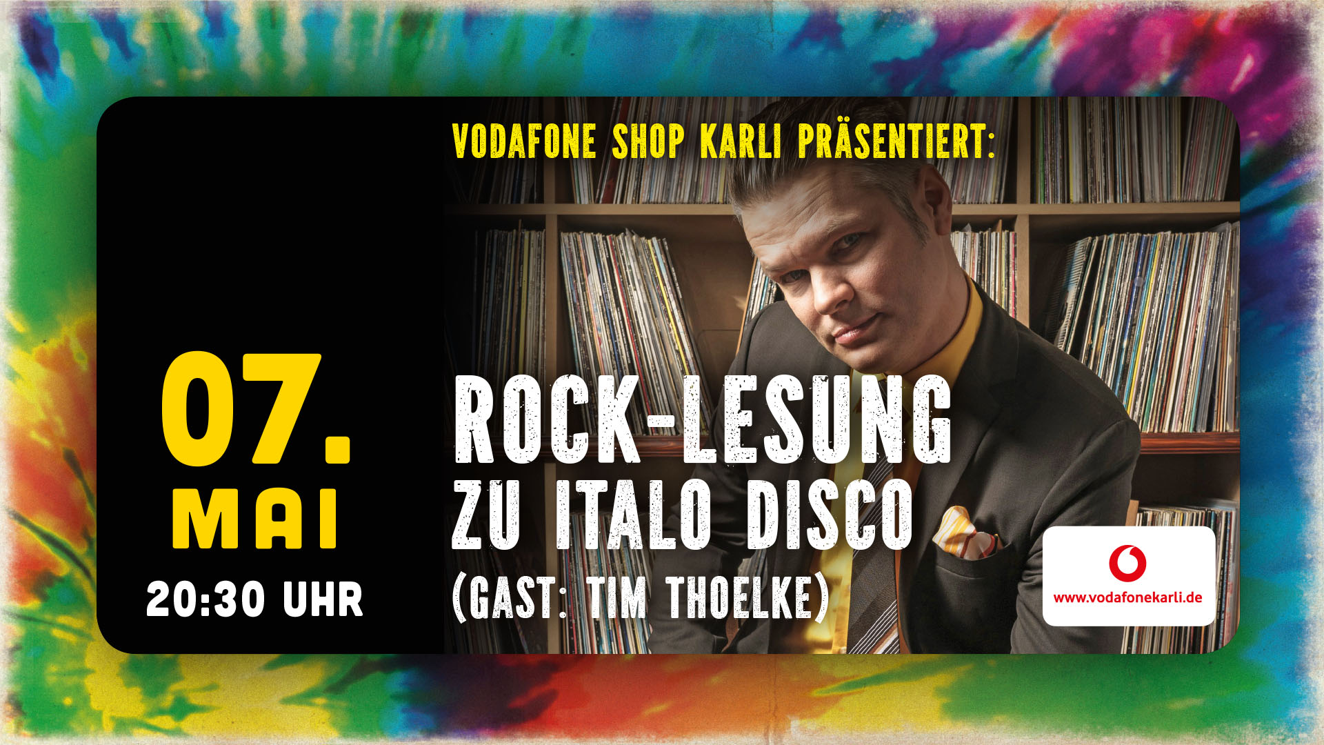 "Rock-Lesung  ""Italo Disco"""